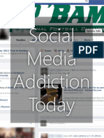 Social Media Addiction Today