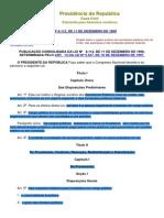 Lei 8112 - Servidores Públicos da União