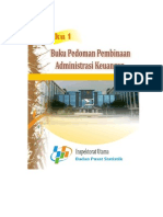 Buku Pedoman Pembinaan Administrasi Keuangan