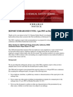 Chevron Regulatory Report Draft for Public Comment