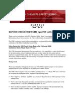 Chevron Regulatory Report Draft for Public Comment