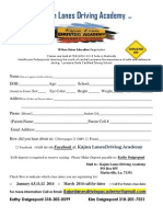 Kajun Lanes Driving Academy 38 Hour Driver Ed Registration Jan 4, 2014