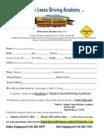 Kajun Lanes Driving Academy 38 Hour Driver Ed Registration Jan 4, 2014