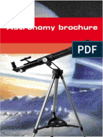 Astronomy Brochure English