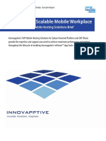 An Agile and Scalable Workplace - Innovapptive SAP Mobile Hosting Solutions