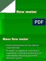 Principles Calculation of Mass-Flow-Meter