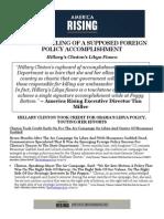 Hillary's Libya Fiasco