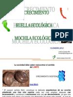 Huella Ecolc3b3gica y Mochila Ecolc3b3gica