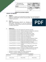 Cmg Pgt-mecg-003 - Mantenimiento Correctivo Gruas Puente