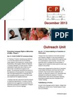 CPA Newsletter - December 2013