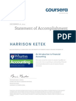 Coursera Accounting 2013