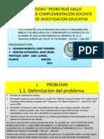 Proyecto de Investigacion Educ.