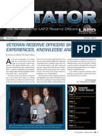 LAPD Reserve Rotator Newsletter Winter 2013