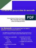 Cuarta Clase Proyeccion Del Mercado
