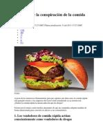 La teoría de la conspiración de la comida rápida