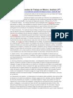 Condiciones Generales de Trabajo en México