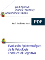Psicopatología y Psicoterapia Cognitiva