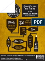 Science of Beer Poster