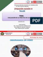 SESIÓN 3-EVALUACIÓN DE LA PRÁCTICA D ELA EFECTIVIDAD