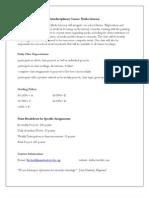 Interdisciplinary Course Media Lit