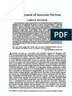 The Spectacle of Anorexia Nervosa