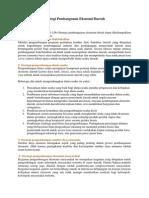 Strategi Pembangunan Ekonomi Daerah