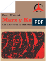 Paul Mattick - Marx y Keynes. Los Limites de La Economia Mixta (1969)