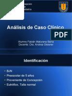 Caso clínico, Asma persistente