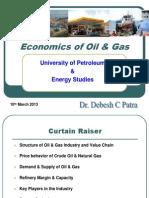 Economics of Oil & Gas