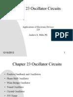 Ch23 Oscillator Circuits1