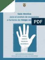 153 Guia Tecnica Exposicion Factores Riesgo Ocupacional