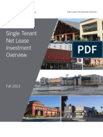 Single Tenant Net Lease Investment Overview