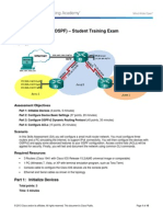CCNA Routing Protocols OSPF Skills Assessment