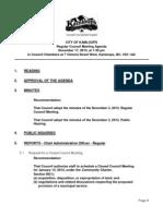 Kamloops City Council Agenda Dec 17 2013