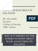 Fluid and Elctrolyte Balance1