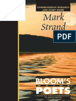 Mark Strand (Bloom's Major Poets)