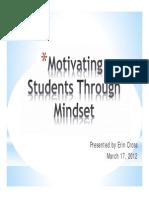Mindset Presentation