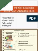 Applying Indirect Strategies to the Four Language Skills
