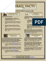 republican national committee release - 01  12   2006  Iraq Facts