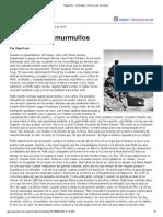 Juan Forn - El zorro y los murmullos (sobre Juan Rulfo) - Página_12, Contratapa