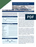 Reporte de Inflacion Setiembre 2013 Sintesis