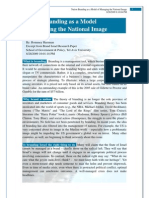 Nation Branding as a Model of Managing the National Image