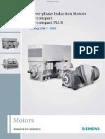 Catalogo de Motores H Compact-HCompact Plus SIEMENS
