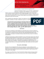2012 Submission Counter Terrorism Legislation