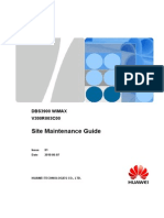 DBS3900 WiMAX Site Maintenance Guide(V300R003C00_01)