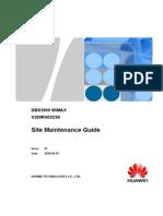 DBS3900 WiMAX Site Maintenance Guide(V300R003C00_01)