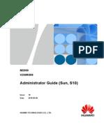 M2000 Administrator Guide (Sun, S10)(V200R009_10)