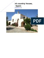 Taberno, Almeria, Spain, A Pleasant Country House