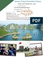 Vietnam Tour Promotion 2014