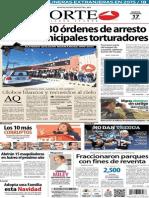 Periódico Norte de Ciudad Juarez 17 de Diciembre de 2013